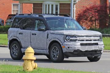 Ford Bronco Sport toont ware gezicht