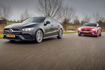 Mercedes CLA Shooting Brake vs. Kia Proceed - Dubbeltest