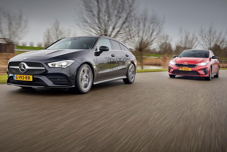 Mercedes CLA Shooting Brake vs. Kia Proceed - Dubbeltest