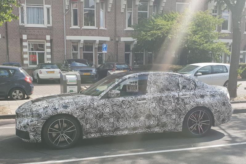 Nieuwe BMW 3-serie gesnapt