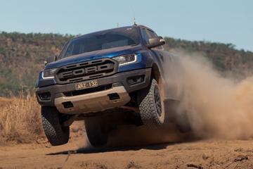 'Ford Australië lepelt V8 van Mustang in Ranger'