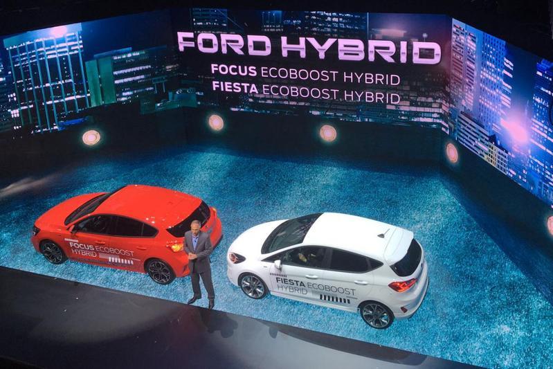 Ford Focus Fiesta mild-hybrid