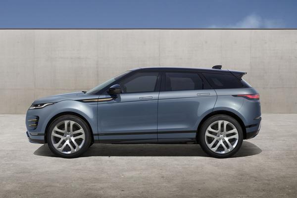 Land Rover trekt doek van Range Rover Evoque