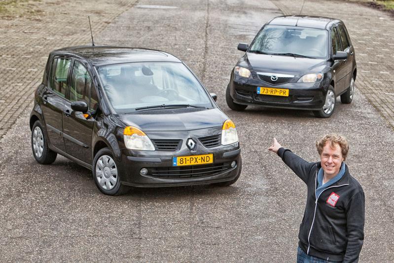 Occasion dubbeltest - Mazda 2 vs. Renault Modus