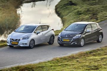 Nissan Micra vs. Peugeot 208 - Dubbeltest
