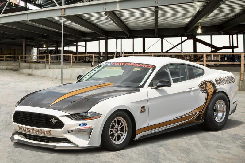 Voor de dragstrip: Ford Mustang Cobra Jet
