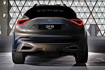 Infiniti QX30 Concept warmt op voor Genève