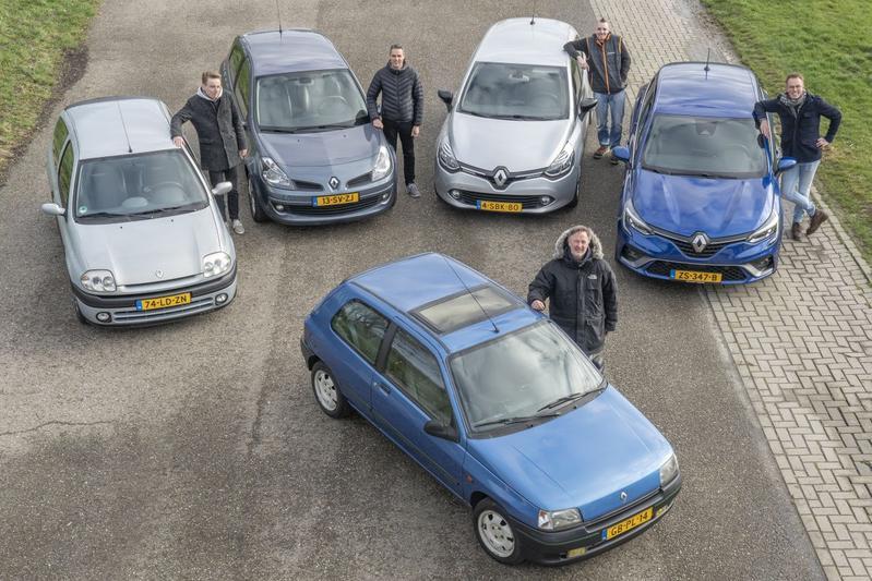 Dertig jaar Renault Clio – Reportage