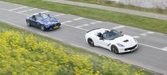 Corvette Stingray Cabriolet - Mercedes-AMG GT Roadster
