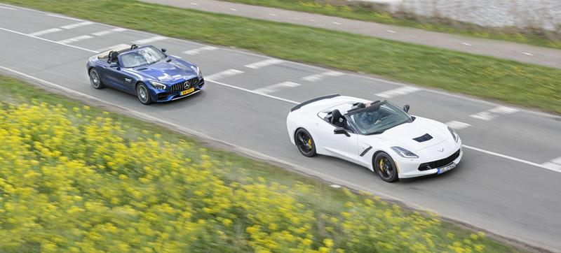 Corvette Stingray Cabriolet - Mercedes-AMG GT Roadster