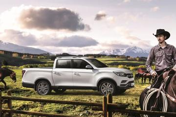 SsangYong presenteert Musso Grand Pick Up