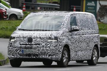 Volkswagen Transporter 'T7' voor het eerst in beeld