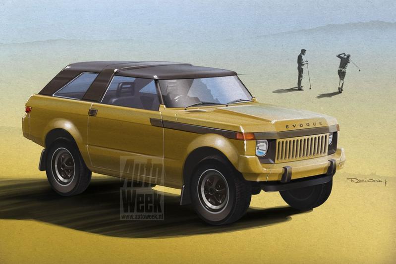 Zijn tijd vooruit: Range Rover Evoque