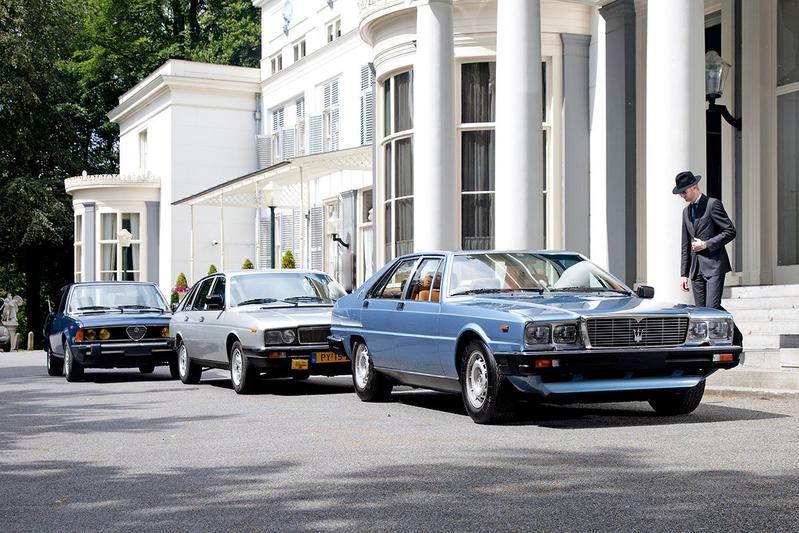 Maserati Quattroporte - Alfa 6 - Lancia Gamma