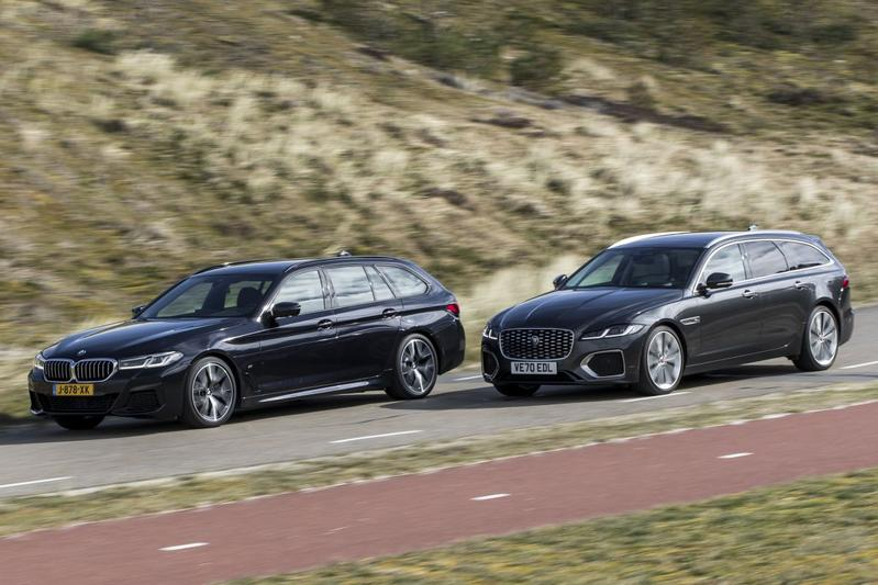 Test: Jaguar XF Sportbrake D200 vs. BMW 520d Touring