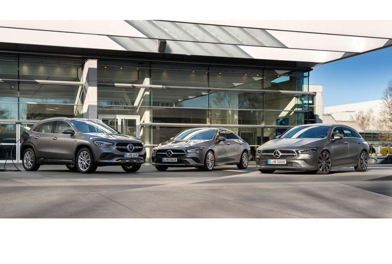 Mercedes-Benz CLA en GLA 250e plug-in hybride