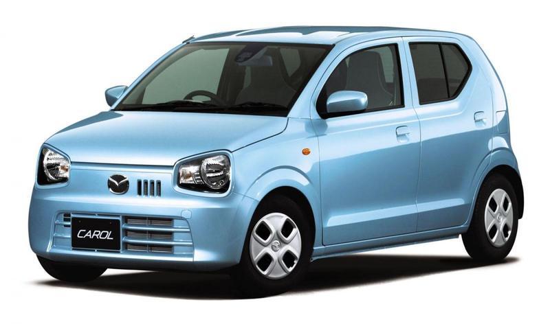 Mazda Carol imiteert Suzuki Alto