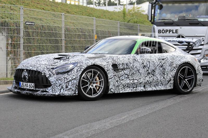 Mercedes-AMG GT Black Series Spyshots