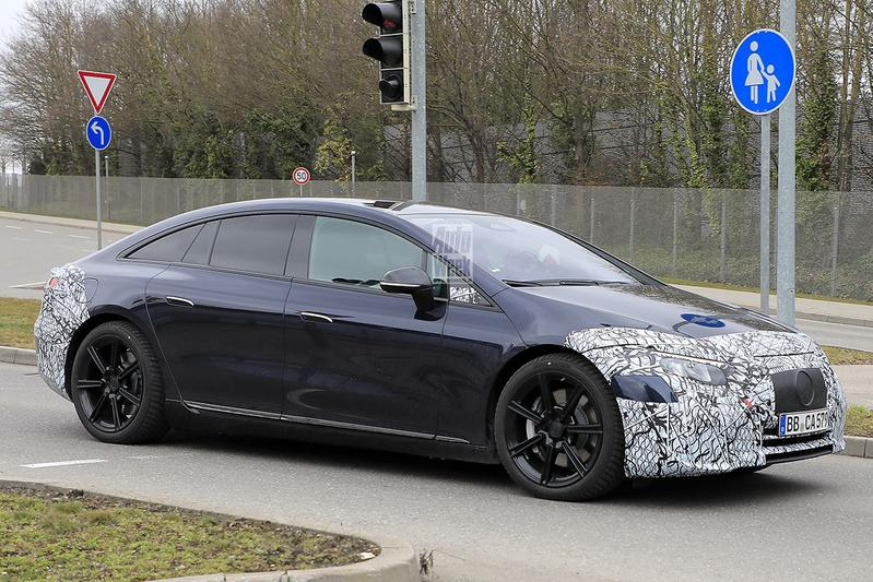 Spyshots Mercedes-Benz EQS