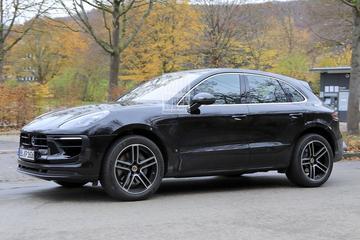 Tweede facelift voor Porsche Macan