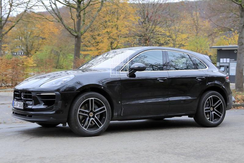 Porsche Macan spyshots