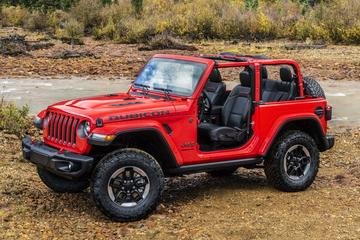 Optionele zijspiegels voor Jeep Wrangler en Gladiator