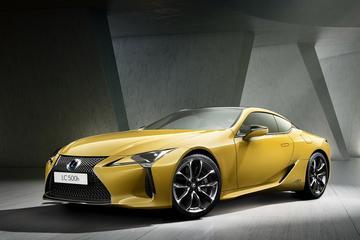 Lexus LC als Flare Yellow Edition