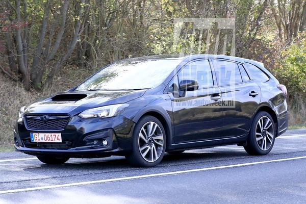 Opvolger Subaru Levorg gesnapt