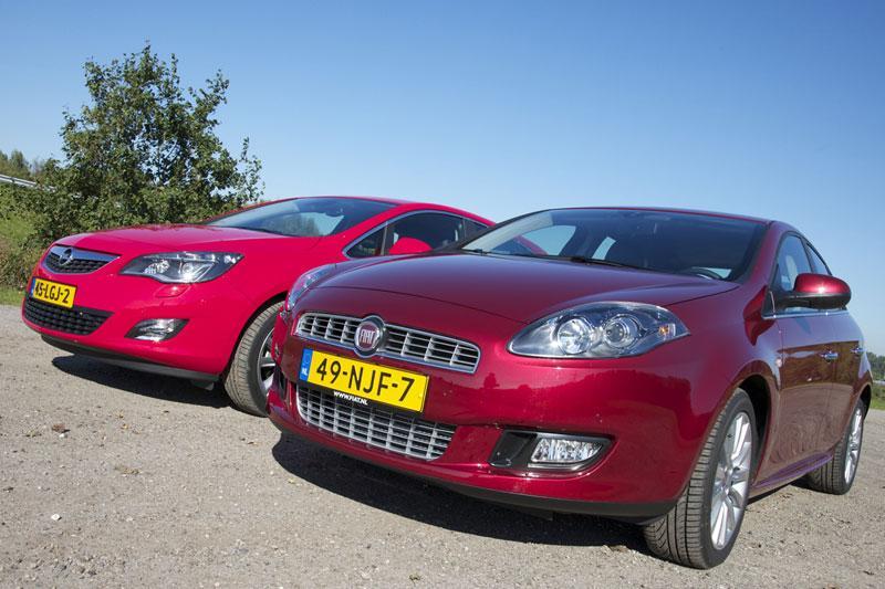 Fiat Bravo 1.4 Multiair-Opel Astra 1.4 Turbo