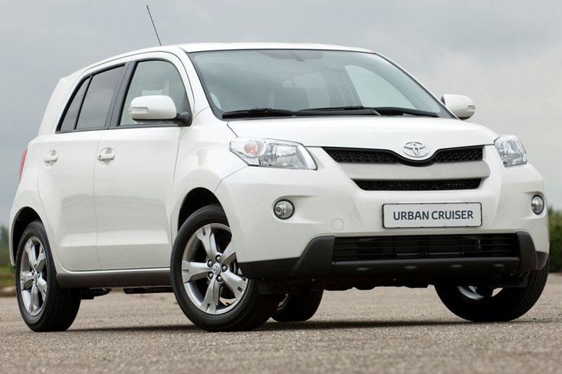 Toyota Urban Cruiser nu ook als Dynamic Pearl