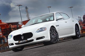 Sportpakket voor Maserati Quattroporte