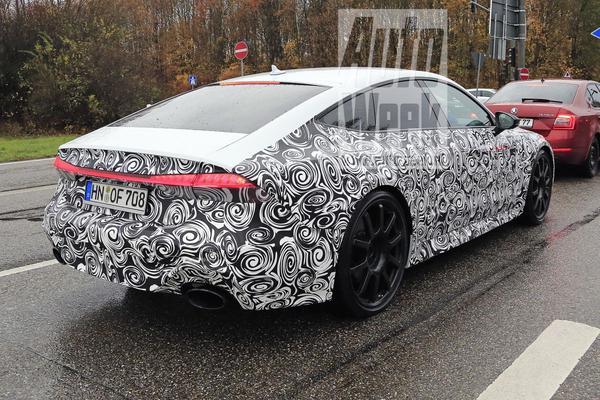 Audi RS7 Sportback van dichtbij