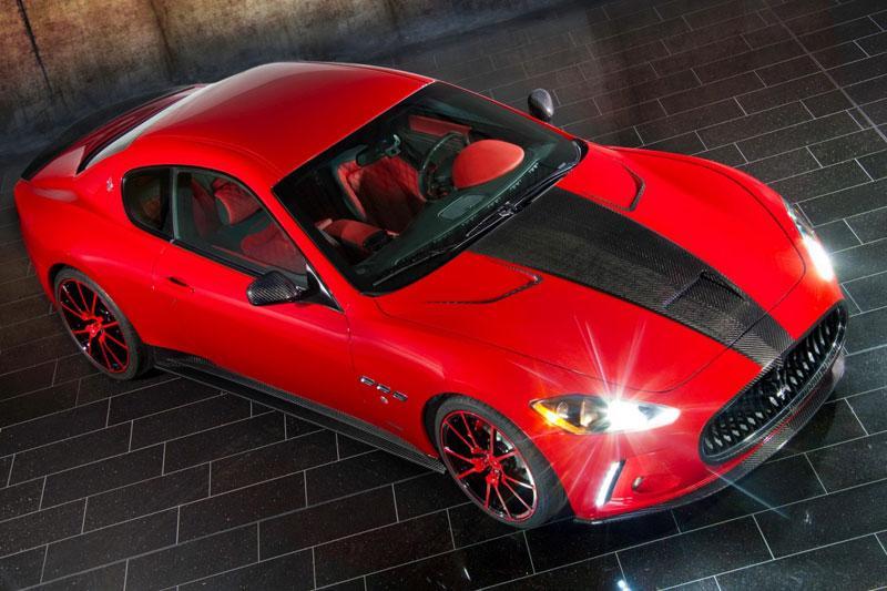 Mansory pakt Maserati GranTurismo aan