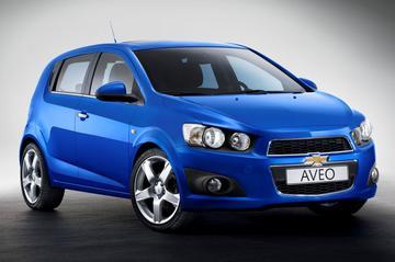 Vanafprijs Chevrolet Aveo