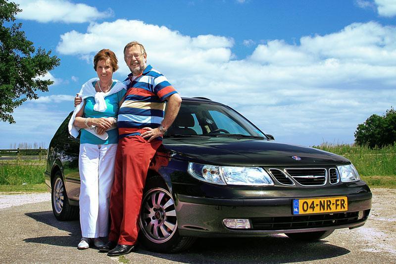 Klokje rond Saab 9-5