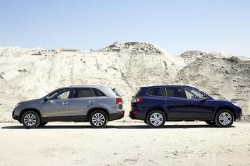 Hyundai Santa Fe 2.2 CRDi - Kia Sorento 2.2 CRDi