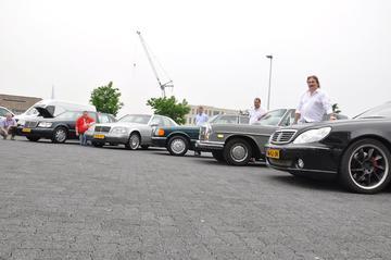 Helmut op Benz-meeting