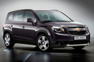 Dit is de Chevrolet Orlando