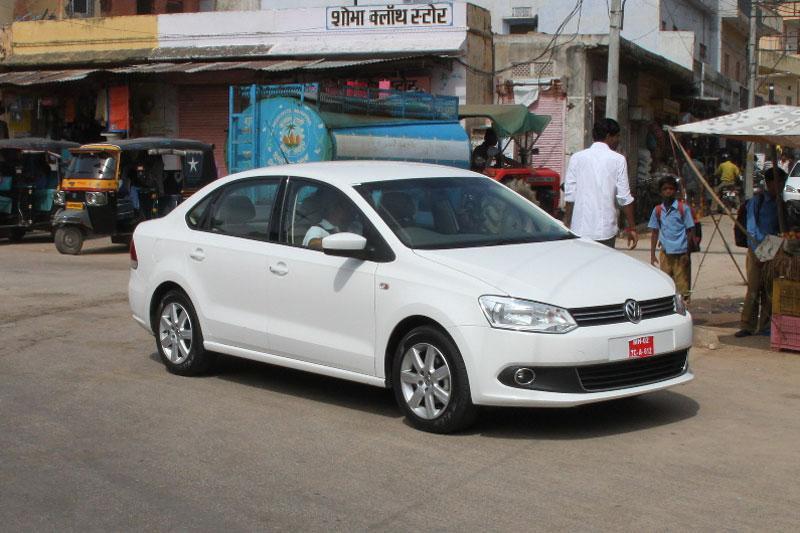 De Polo sedan die in India Vento gedoopt is...