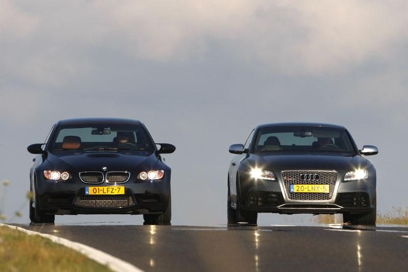 Dubbeltest Audi RS5 vs BMW M3