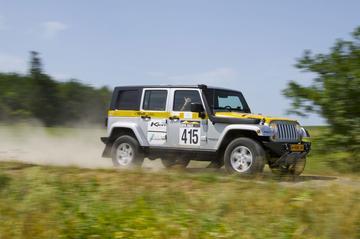 Finale selectie Jeep Trans Anatolia Rally