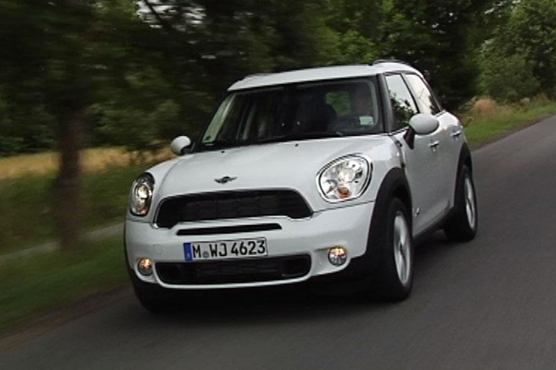 Rij-impressie Mini Countryman Cooper S All4