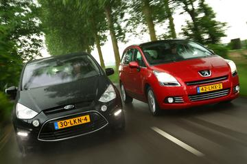 Ford S-Max 2.0 TDCi 163 pk - Peugeot 5008 2.0 HDiF
