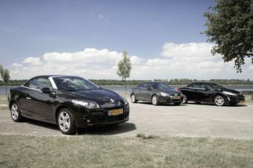 Peugeot 308 CC 1.6 VTi >> Renault Mégane Coupé-Cabriolet 1.4 TCe >> Volkswagen E