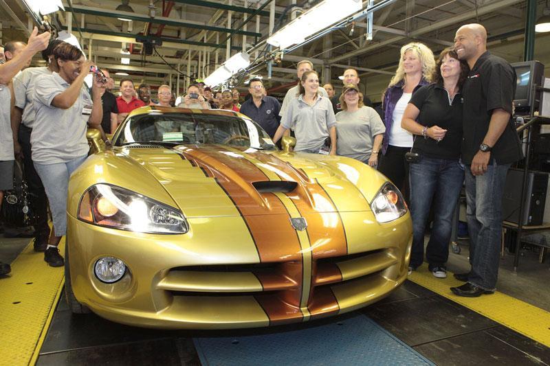 De laatste Dodge Viper...