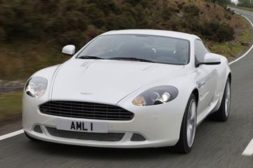 Aston Martin DB9 in 't nieuw