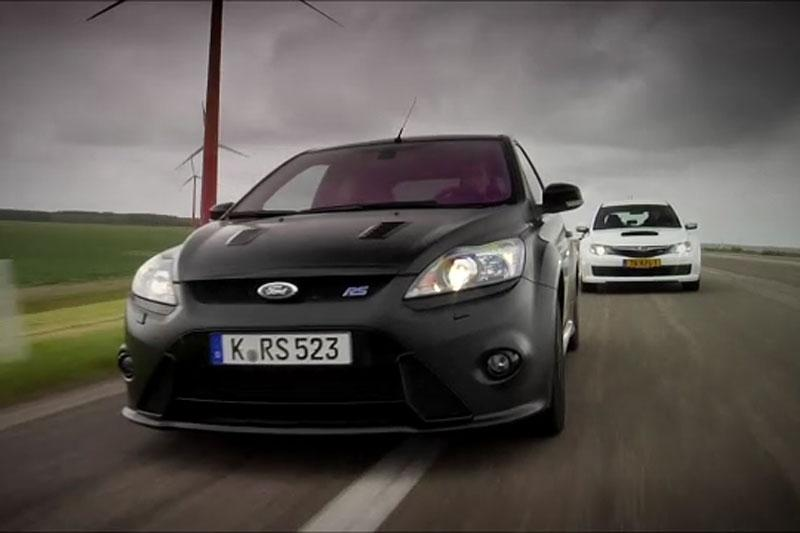 Ford Focus RS500 vs Subaru Impreza WRX STi