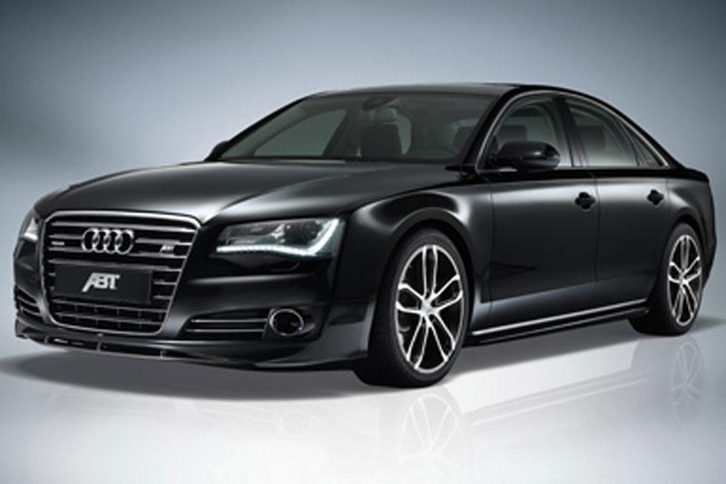 Audi A8 valt ten prooi aan Abt