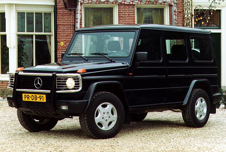 Mercedes-Benz G 500 Stationwagon Lang (1999)