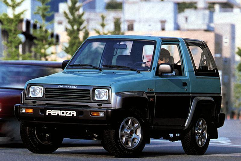 Daihatsu Feroza Resin-Top EL-II (1992)